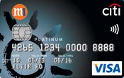 Citi-M1 Platinum Visa