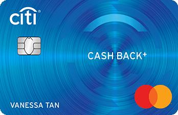 Citi-Citi Cash Back+ Mastercard®