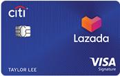 Citi-Lazada Visa Signature