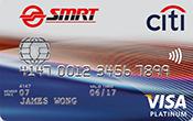 Citi-SMRT Platinum Visa