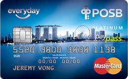 posb everyday credit card