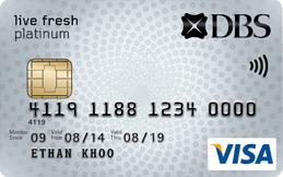 DBS-DBS Live Fresh Visa Student Card