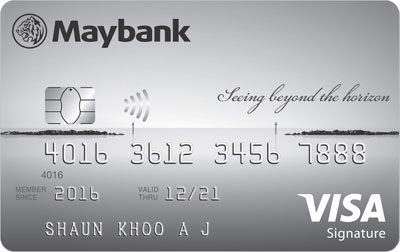 Maybank-Horizon Visa Signature Card