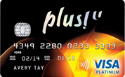 Plus! Debit Card