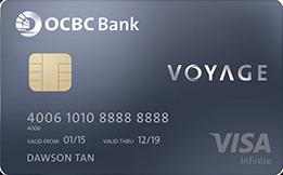OCBC, Voyage