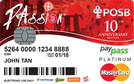 PAssion-PAssion POSB Debit Card