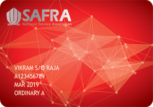 SAFRA-Membership Card