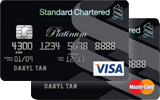 Platinum Visa MasterCard