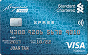 Spree card standard chartered