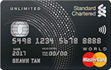 Standard Chartered-Unlimited Cashback Credit Card