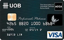 UOB-Professionals Platinum Card