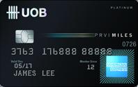 UOB-PRVI Miles Card