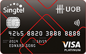 UOB-Singtel-UOB Card
