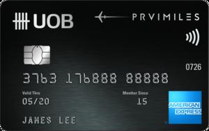 UOB-UOB PRVI Miles American Express Card