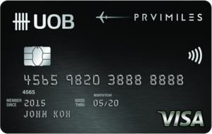 UOB-UOB PRVI Miles Visa Card