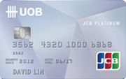 UOB JCB Platinum Card