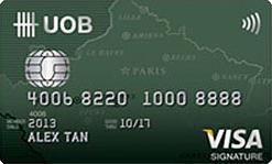 UOB-Visa Signature