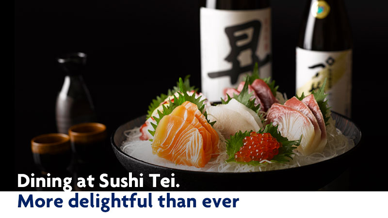 sushi tei About sushi tei debuting in 1994, sushi tei, headquartered in singapore, has combined the best offerings of japanese cuisine, marrying the intricacies of sashimi with the flair of teppanyaki, focusing on local tastes and forging an identity of their own.