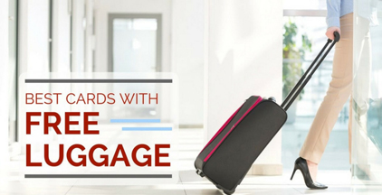 free luggage credit card promotions